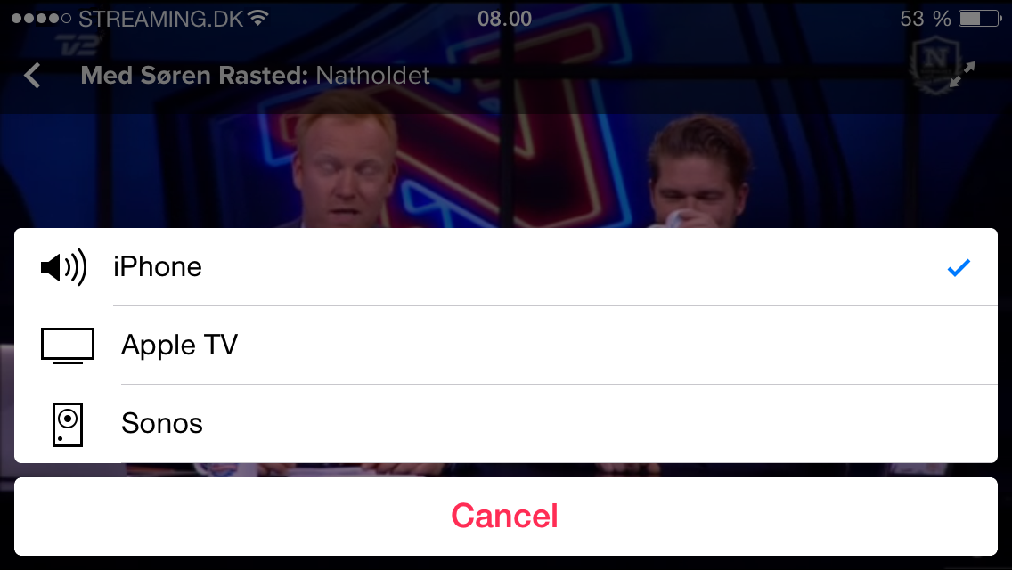 Se TV 2 Play på Apple TV via AirPlay