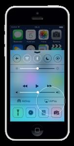 Sådan bruger du AirPlay på iOS