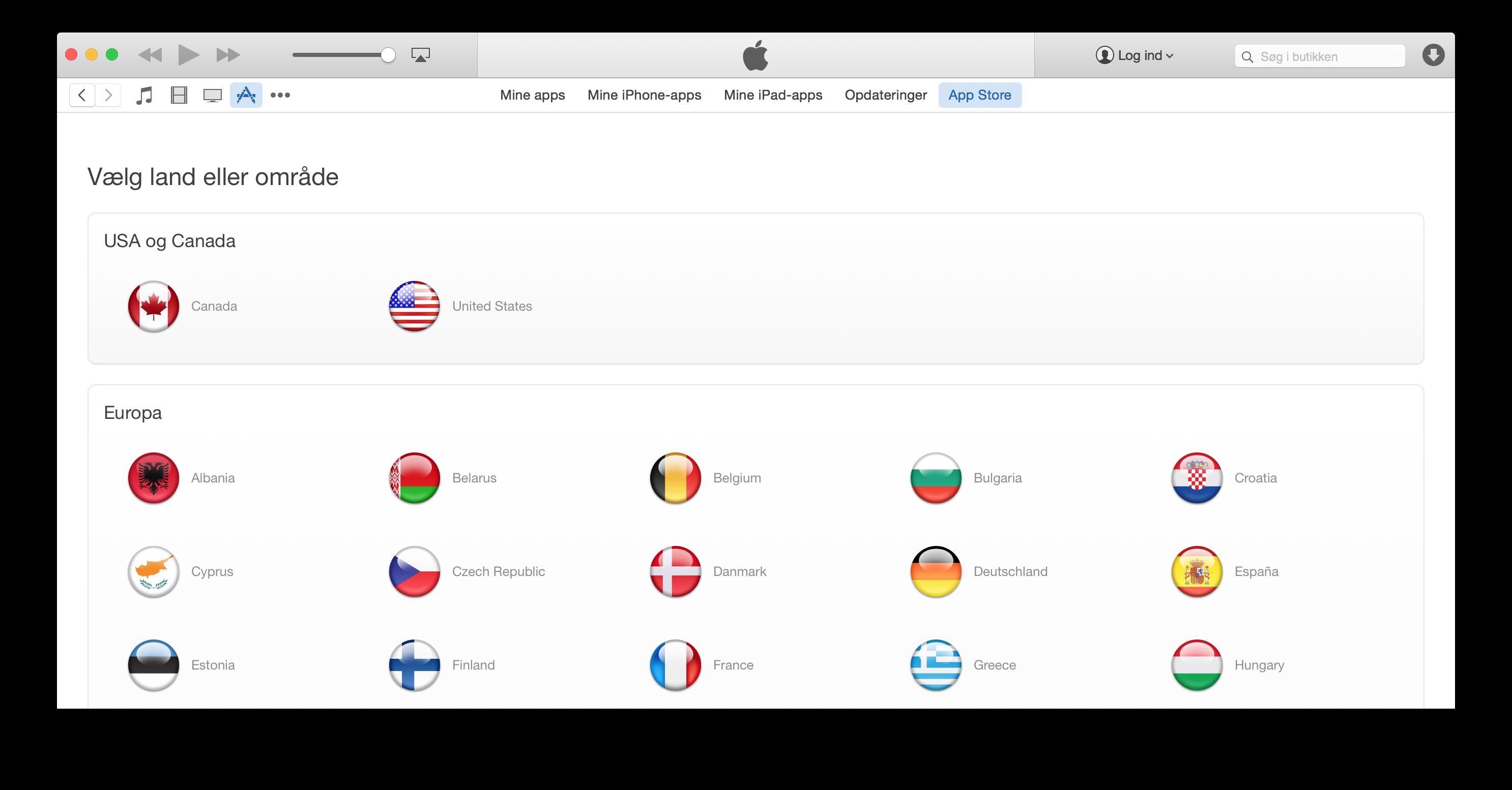 Sådan opretter du en amerikansk iTunes-konto