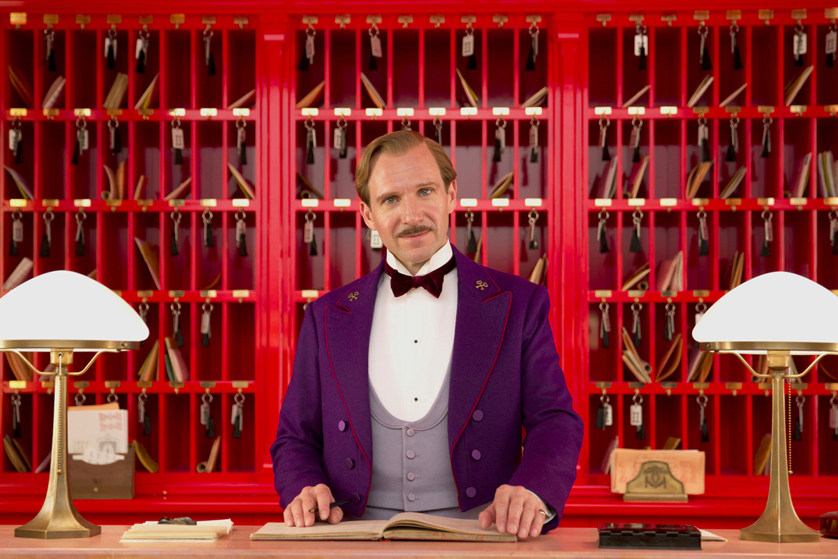 Ralph Fiennes Grand Budapest Hotel - Oscar 2015