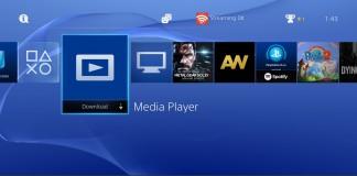 PlayStation 4 Media Player