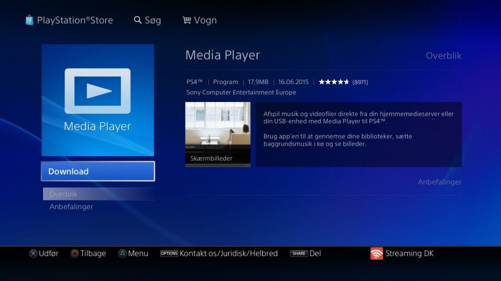 PlayStation Store | Media Player